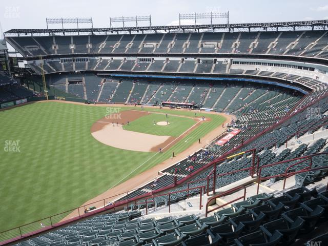Globe Life Park Section 311 view