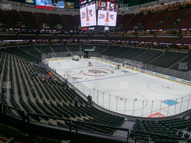 Honda Center Section 303 view