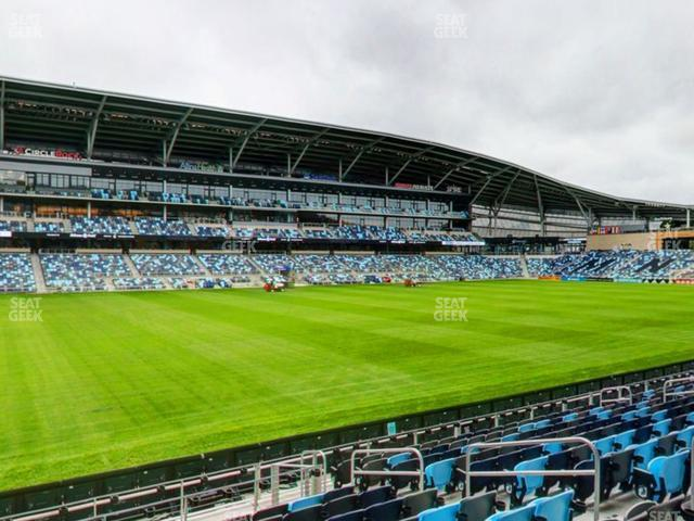 Allianz Field Section 17 view