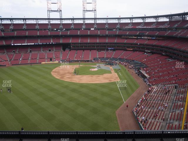 Busch Stadium Left Field Pavilion 372 view