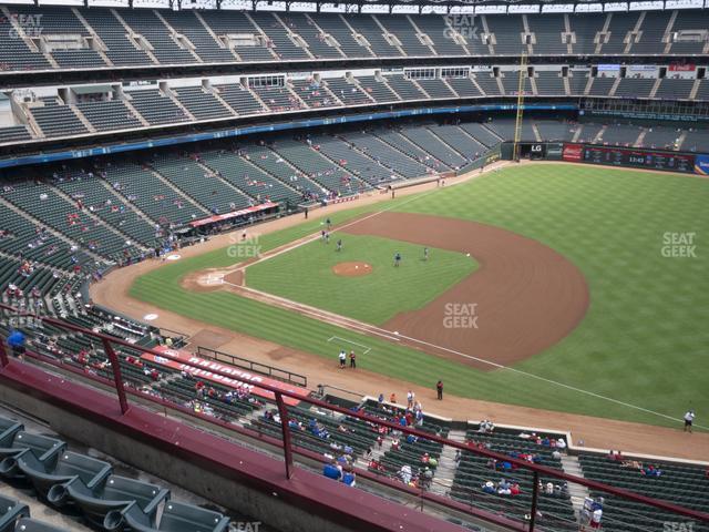 Globe Life Park Section 336 view