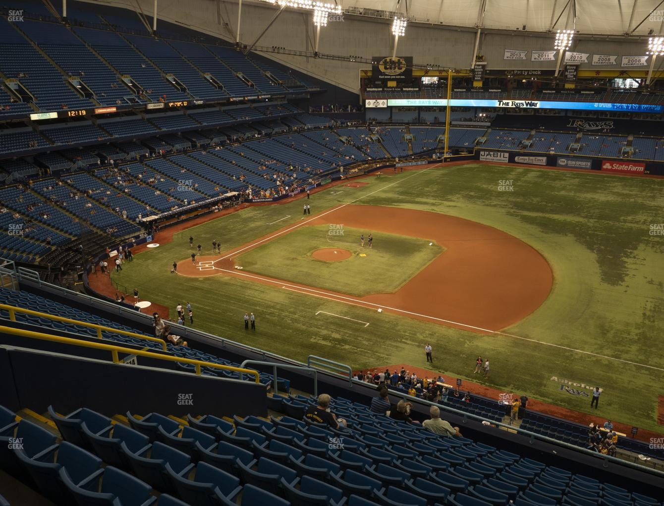 Tampa Bay Rays at Tropicana Field Section 316 View