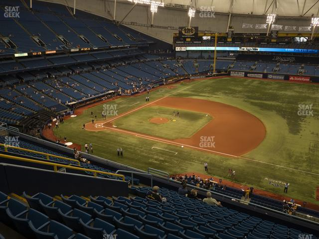 Tropicana Field Section 316 view
