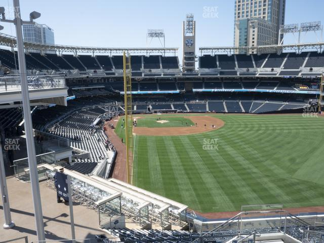 Petco Park Section 227 view