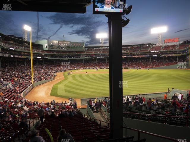 Fenway Park Outfield Grandstand 1 view
