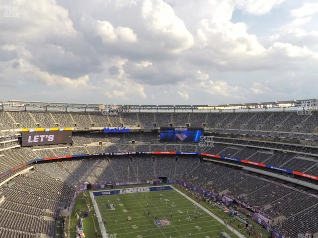 MetLife Stadium Section 304 view