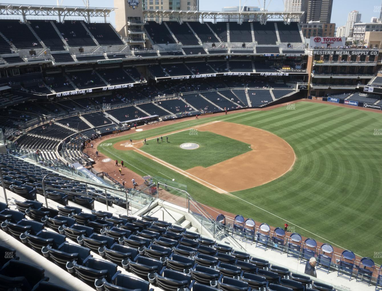 San Diego Padres at Petco Park Section 319 View