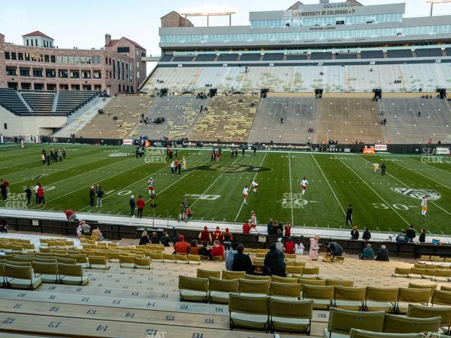 Folsom Field Section 106 view