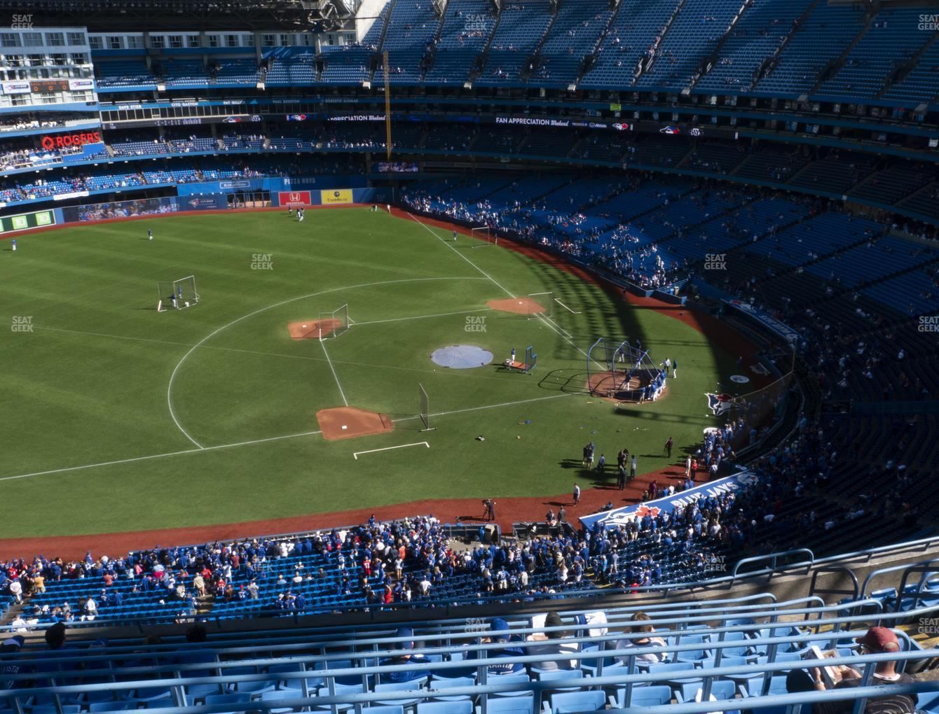 Toronto Blue Jays at Rogers Centre Section 531 L View