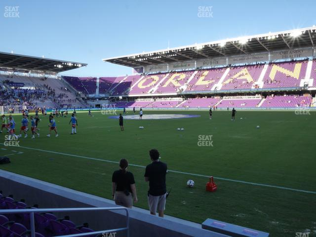 Exploria Stadium Section 12 view