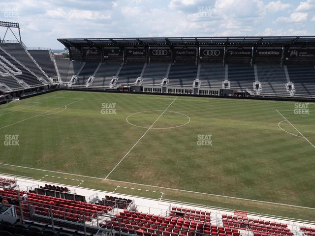 Audi Field Section 105 view