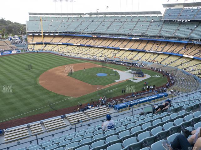 Dodger Stadium Reserve 35 view