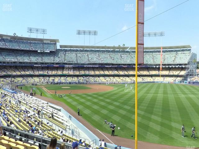Dodger Stadium Loge Box 164 view