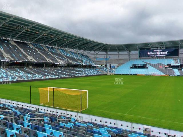 Allianz Field Section 03 view