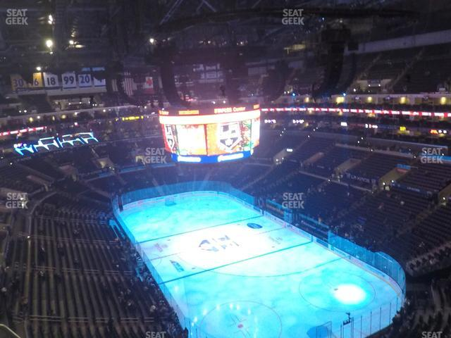 Staples Center Section 312 view