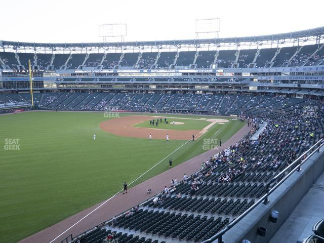 Guaranteed Rate Field Section 354 view