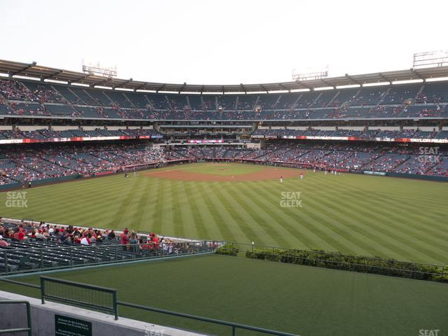 Angel Stadium of Anaheim Section 249 view