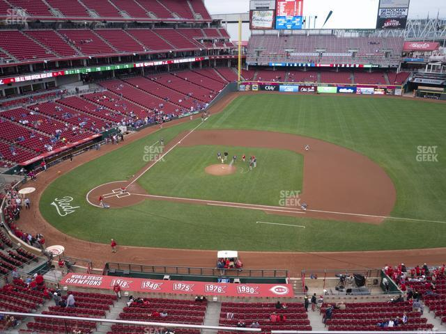 Great American Ball Park Section 430 view