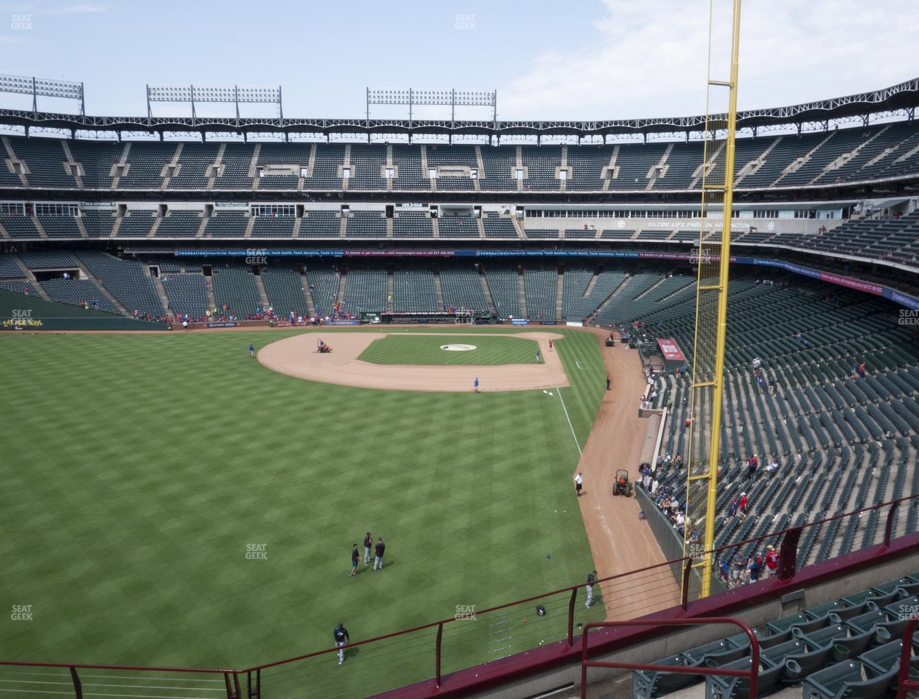 Concert at Globe Life Park Section 206 View