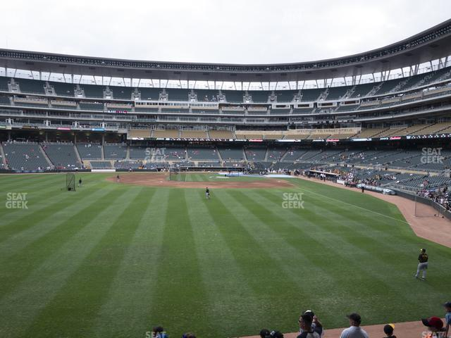 Target Field Section 129 view
