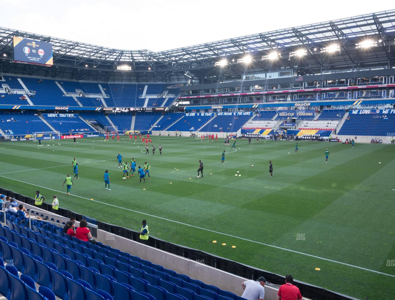 Red Bull Arena Section 124 Seat Views Seatgeek