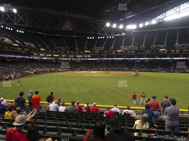 Chase Field Section 102 view