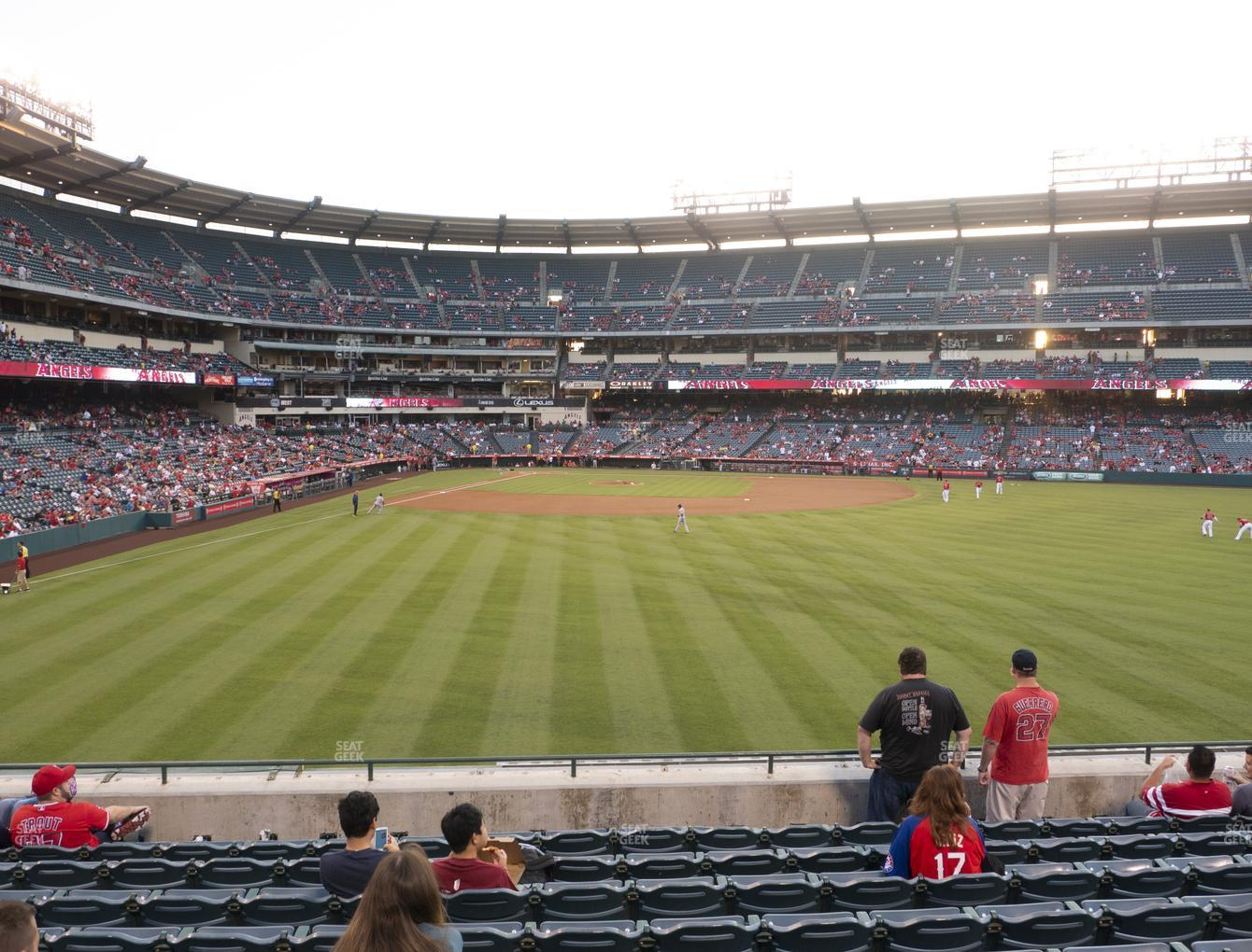 Los Angeles Angels at Angel Stadium of Anaheim Section 237 View