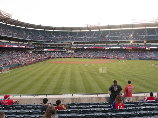 Angel Stadium of Anaheim Section 237 view