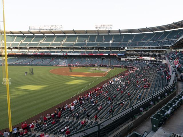 Angel Stadium of Anaheim Section 304 view