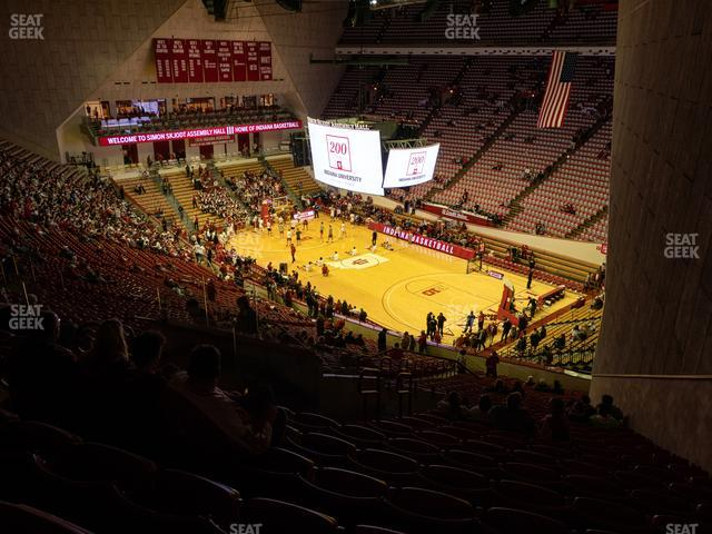 Assembly Hall - IN Section G view