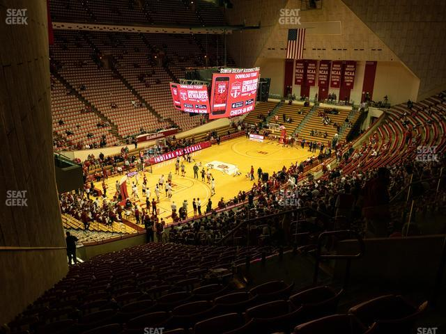 Assembly Hall - IN Section M view