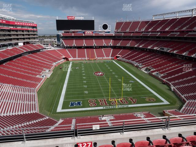 Levi's Stadium Section 327 view