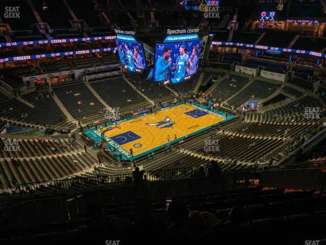 Spectrum Center Section 229 view