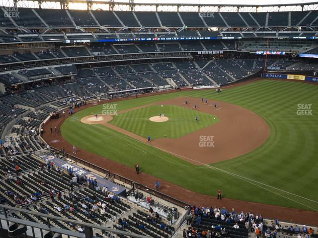 Citi Field Section 404 view