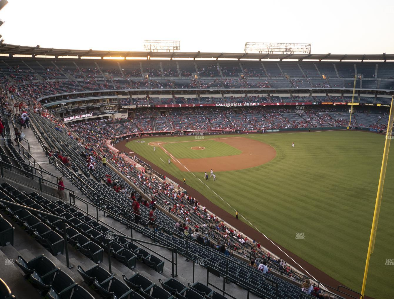 Los Angeles Angels at Angel Stadium of Anaheim Section 536 View