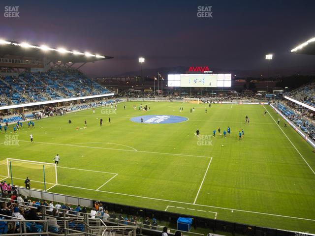 Avaya Stadium Section 120 view