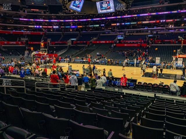 Staples Center Section 119 view