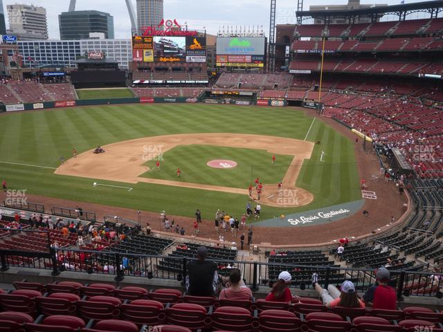 Busch Stadium Home Redbird Club 253 view