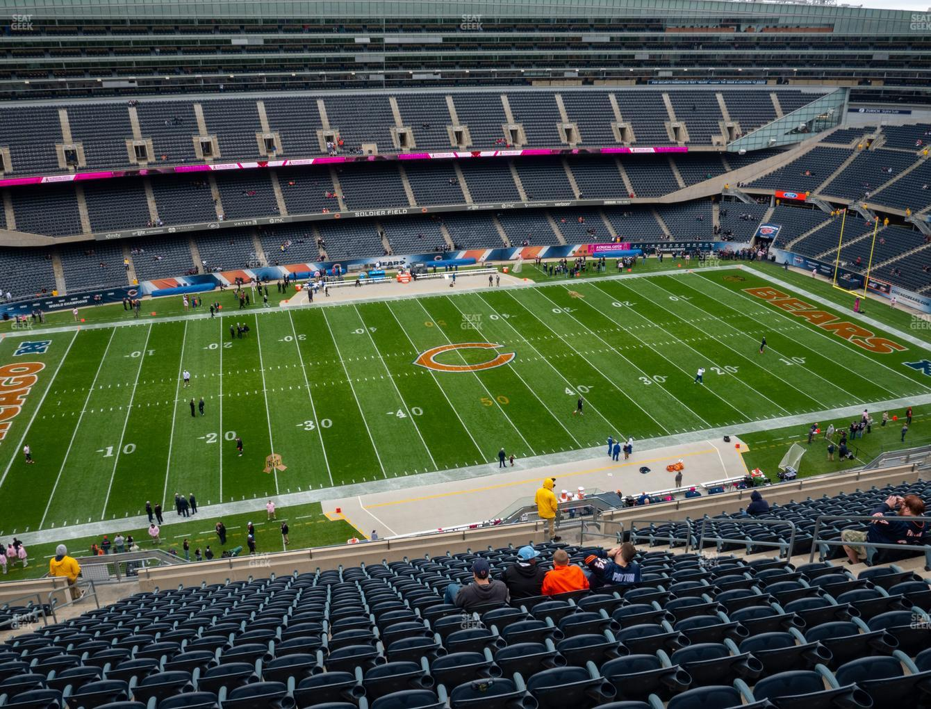 Chicago Bears at Soldier Field Section 439 View