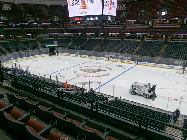 Honda Center Section 305 view