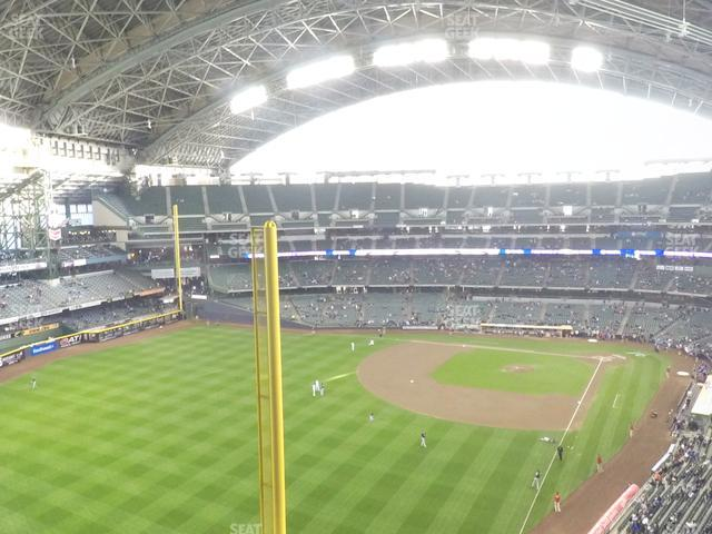 Miller Park Section 439 view