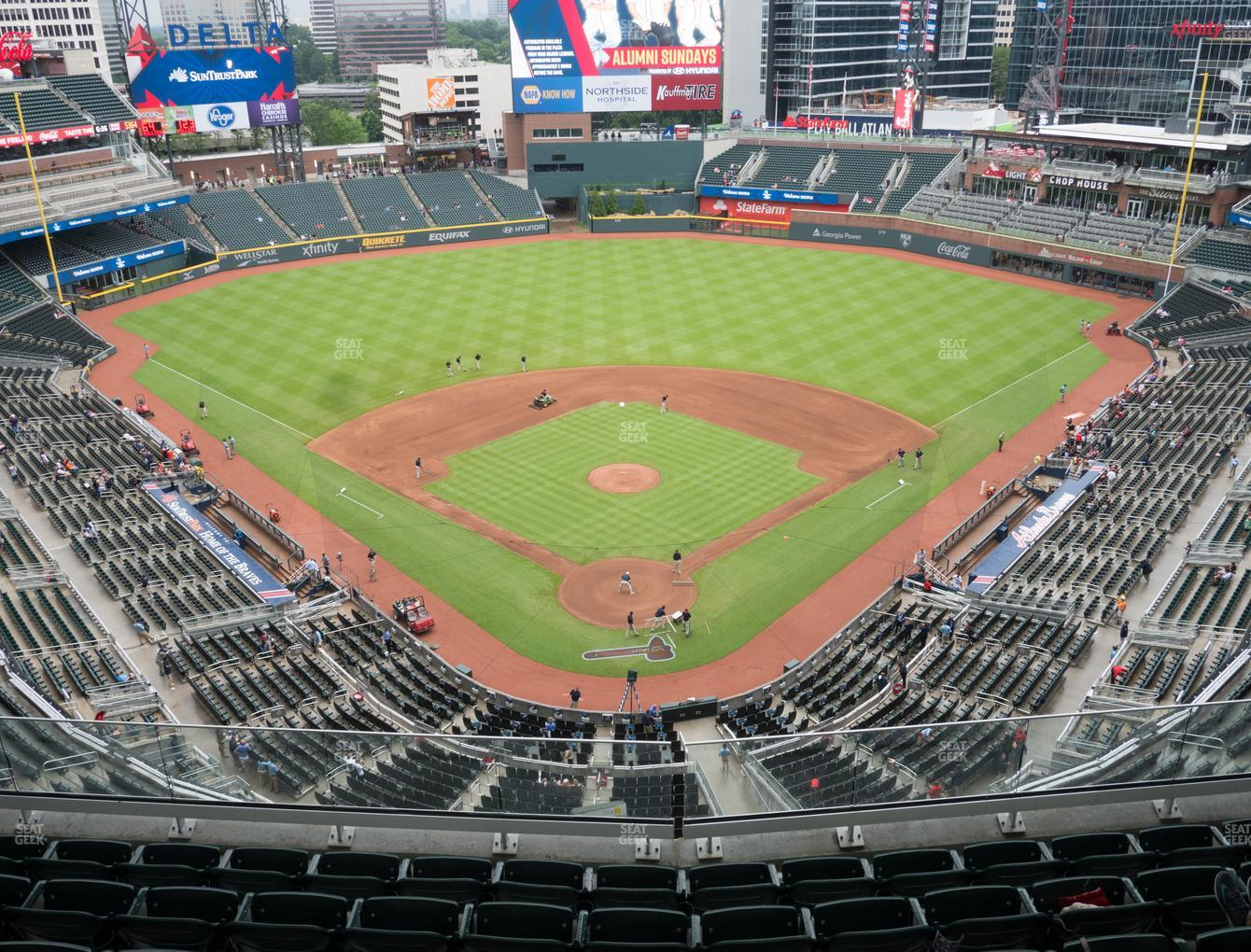 Atlanta Braves at SunTrust Park Section 426 View