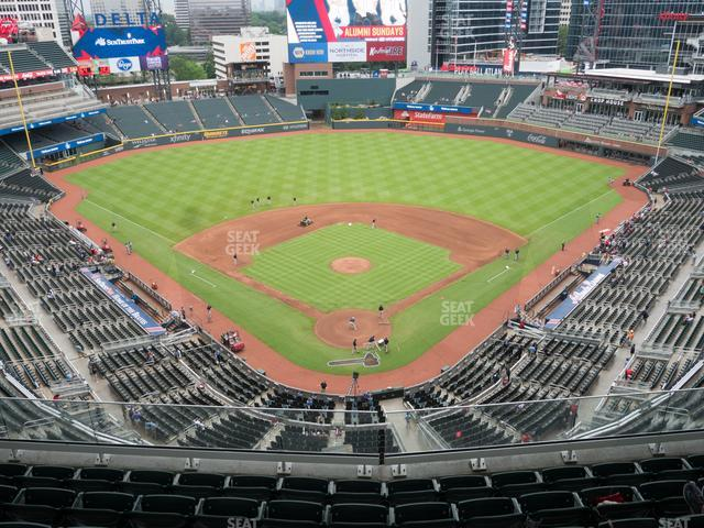 SunTrust Park Section 426 view