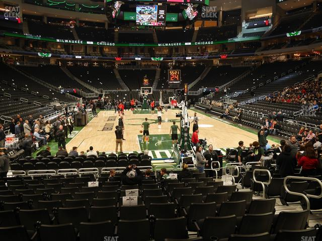 Fiserv Forum Section 111 view