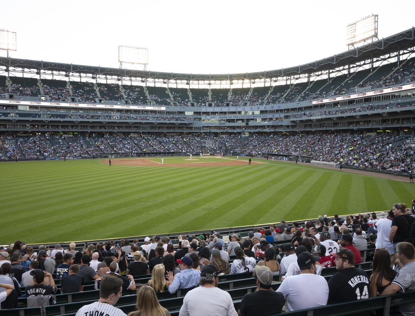 Chicago White Sox at Guaranteed Rate Field Section 161 View