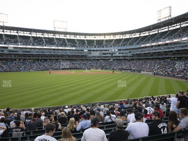 Guaranteed Rate Field Section 161 view