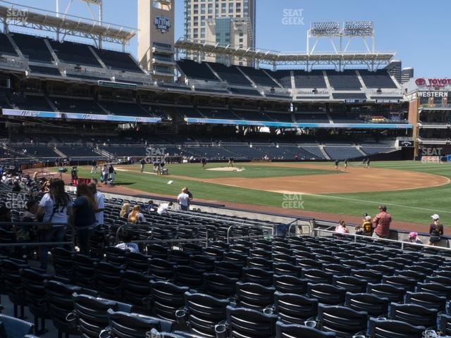 Petco Park Section 115 view