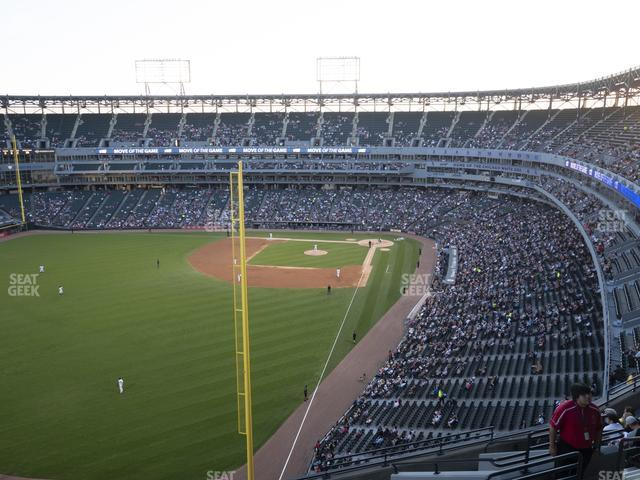 Guaranteed Rate Field Section 557 view