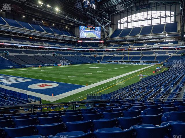 Lucas Oil Stadium Section 148 view