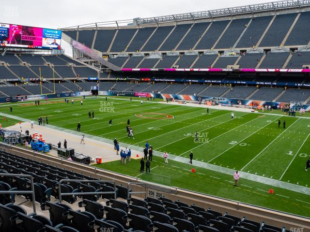 Soldier Field Section 205 view